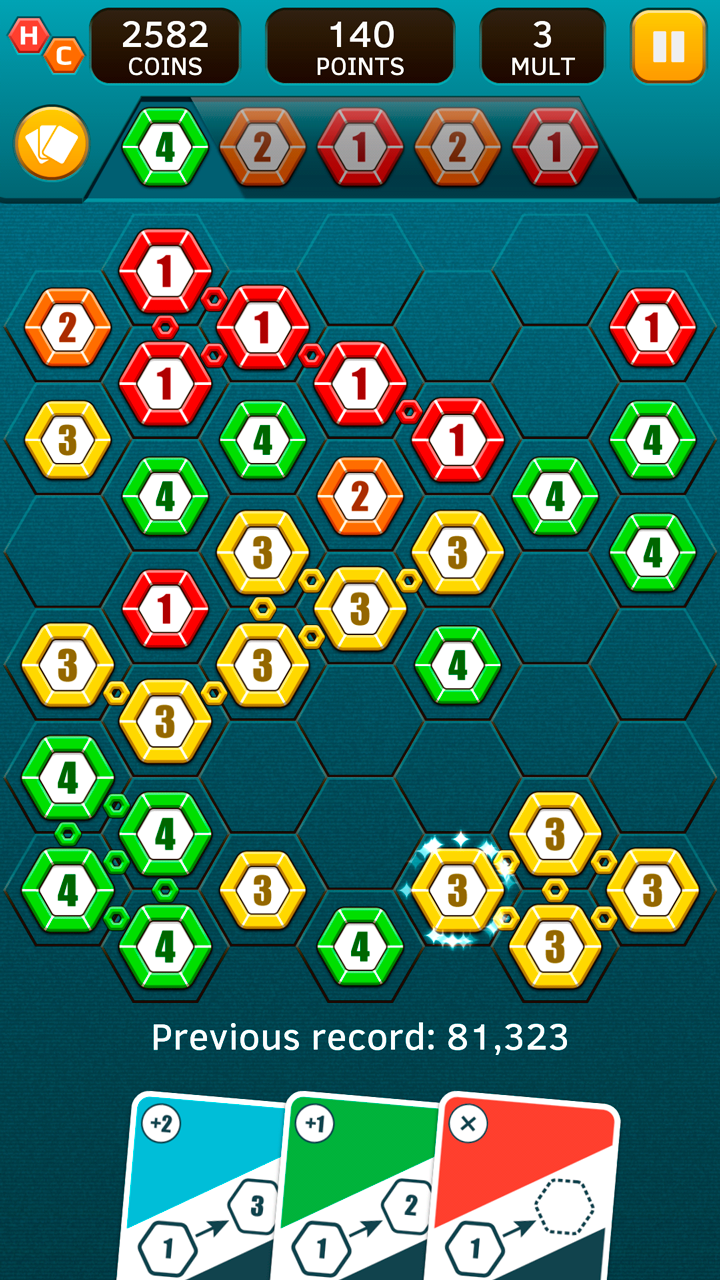 Hex Chains screenshot